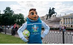 Маскот Евро-2020 «Скиллзи» на футбольном турнире Специальной Олимпиады!